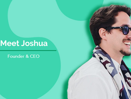 Introducing the founders: Meet Joshua!