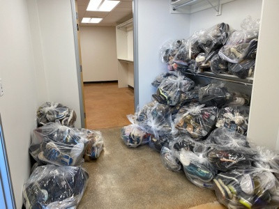 MHALA Has Donated Shoes Ready for Distribution