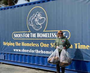 Shoes for the Homeless continues to take action!