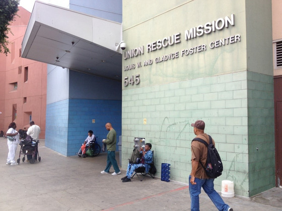 Union Rescue Mission Receives Much Needed Shoes!