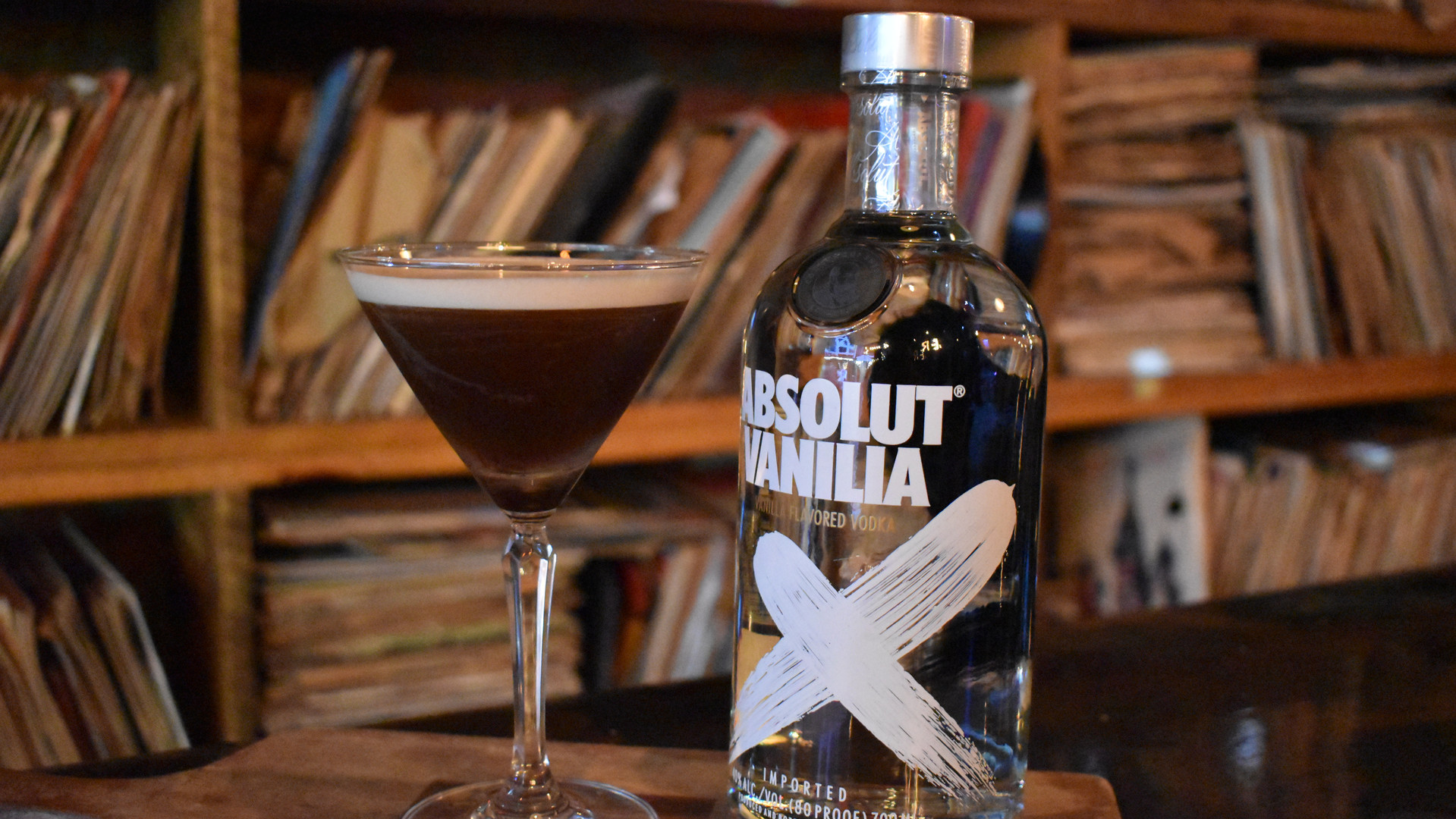 Cocktails at Vinyl