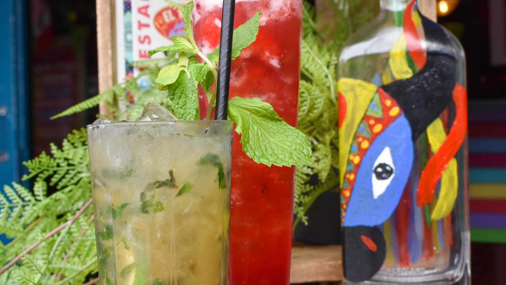 Cocktails at El Barrio