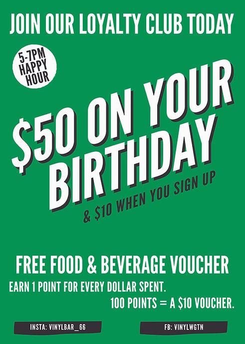 $50 on your birthday Vinyl Bar .jpg