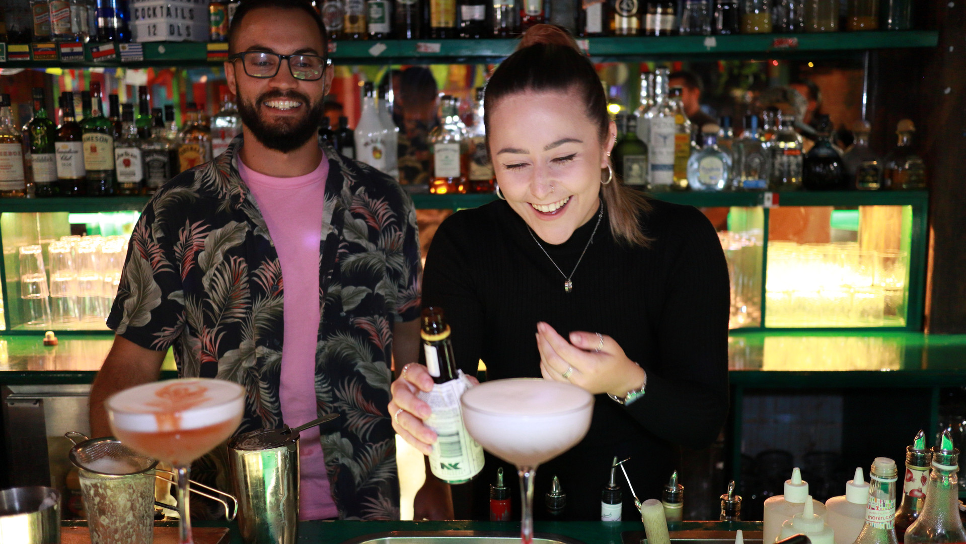 Cocktail Masterclass Training