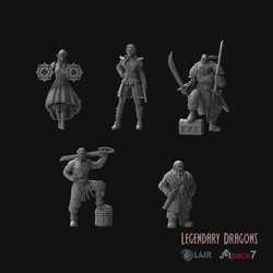 Dragon Hunting Crew