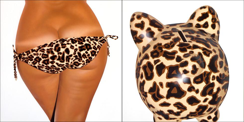 Leopard II Bikini Bank