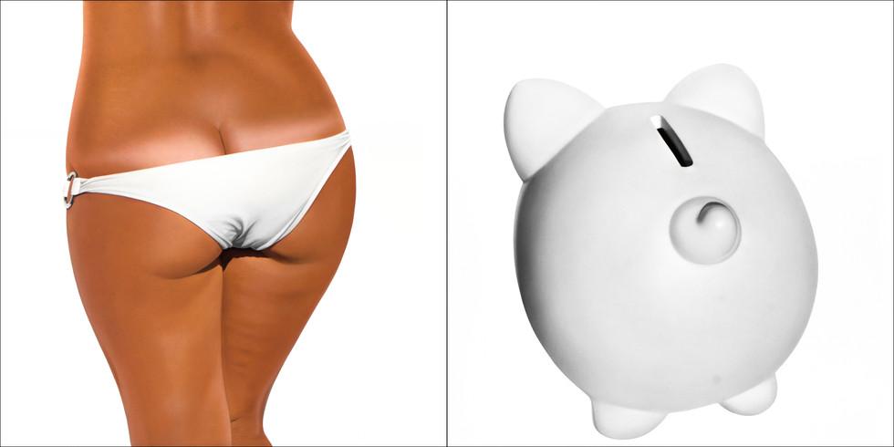 White Bikini Bank