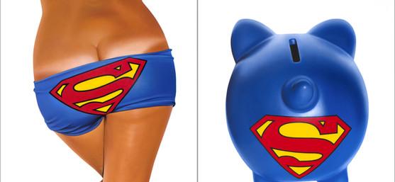 SUPERMAN BIKINI - BANK