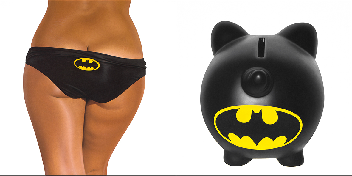 BATMAN BIKINI - BANK