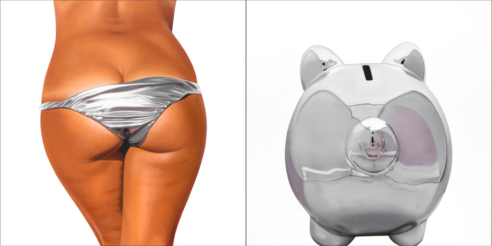 Silver Bikini Bank