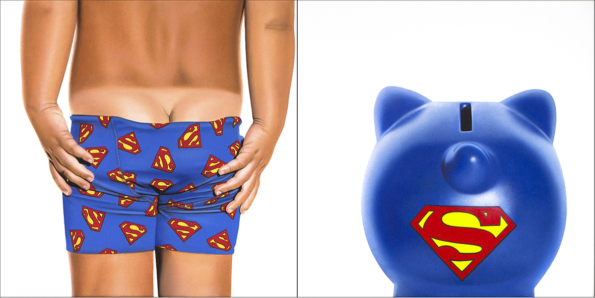 SUPERMAN BABY BIKINI - BANK