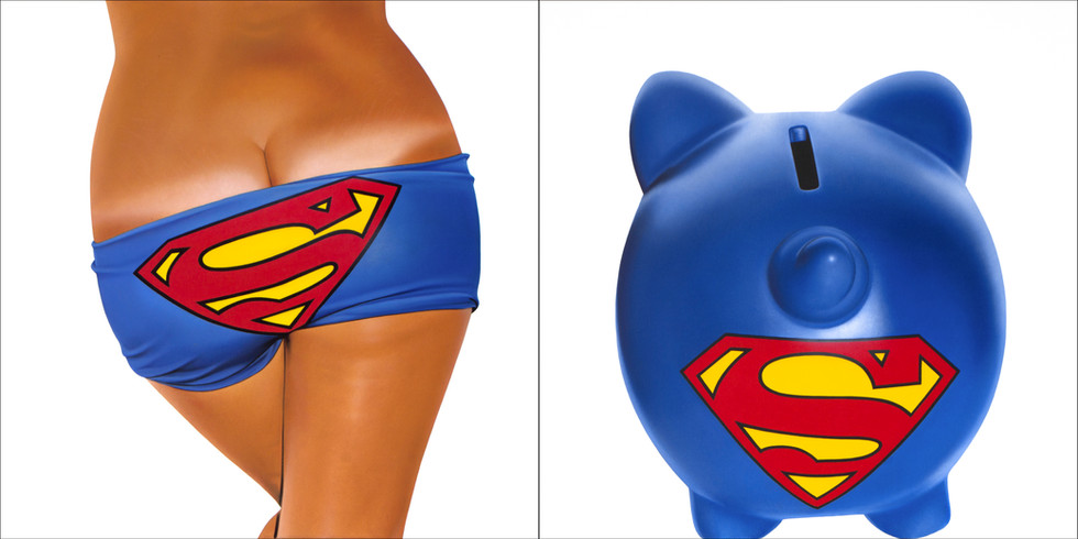 Supermana Bikini Bank