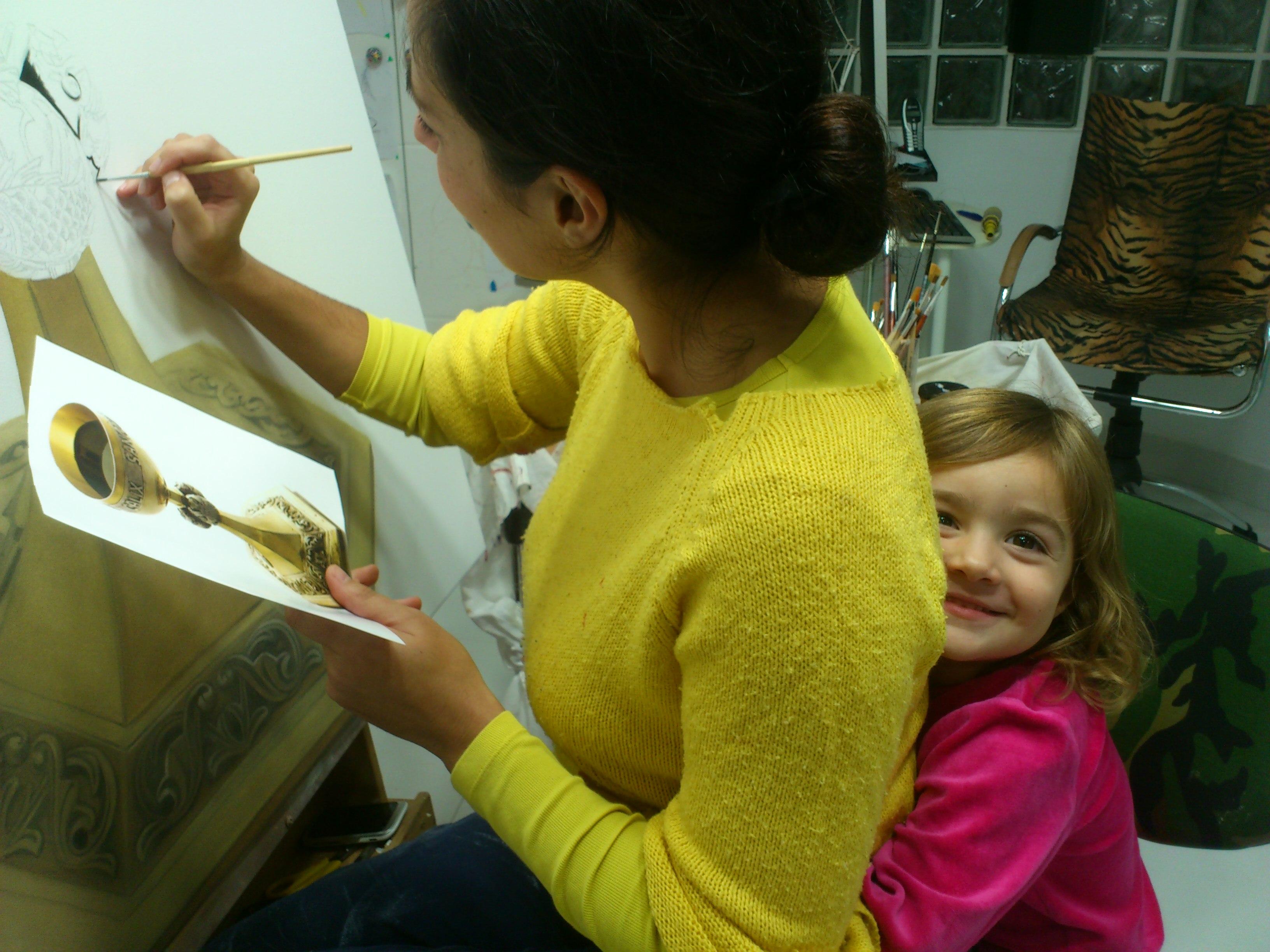 Painting with Pandora