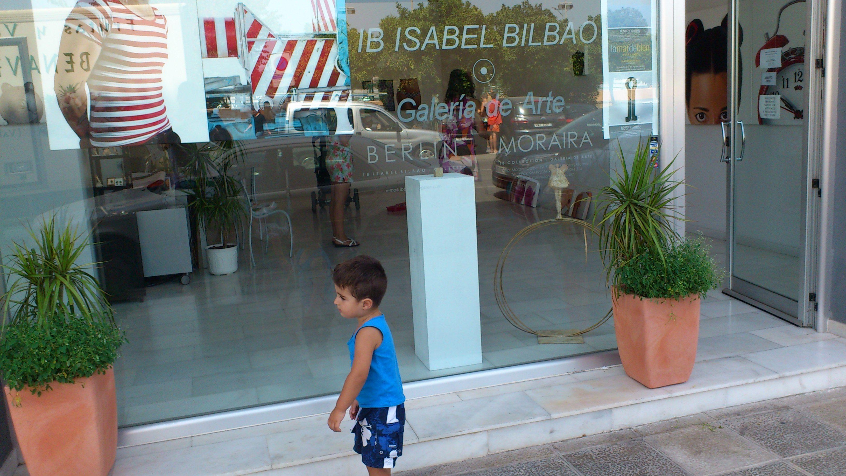 Gallery Isabel Bilbao, Moraira 2011