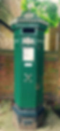 The Penfold Post Box situated outside The Georgian Hotel, Haslemere