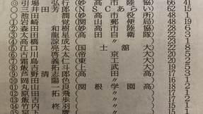 10/17(日)号砲 県駅伝競走に高原中卒業生が参加!