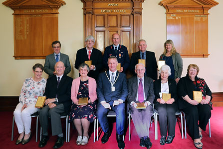 Waitaki Citizens Awards group photo 2019