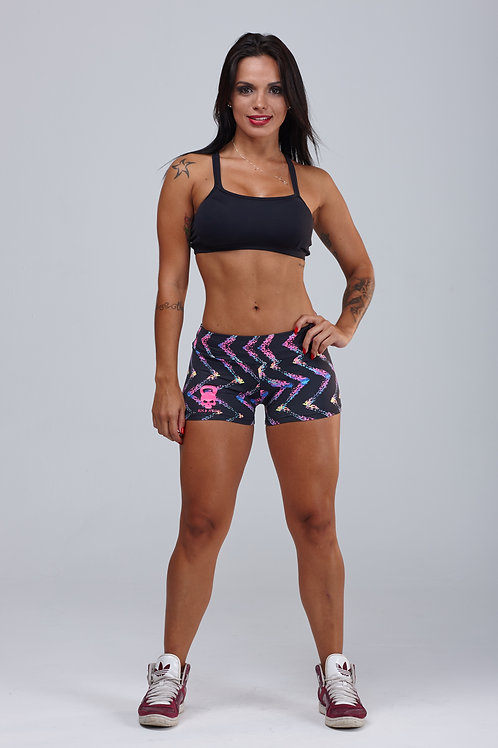 SHORTS IRON GIRL ZIGZAG