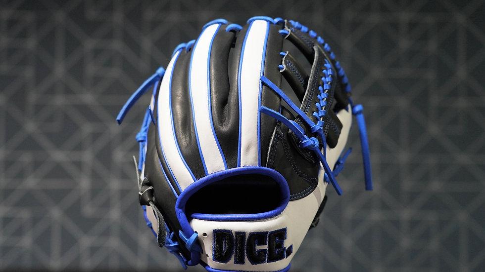 DICE. ブラック×ホワイト×ブルー
