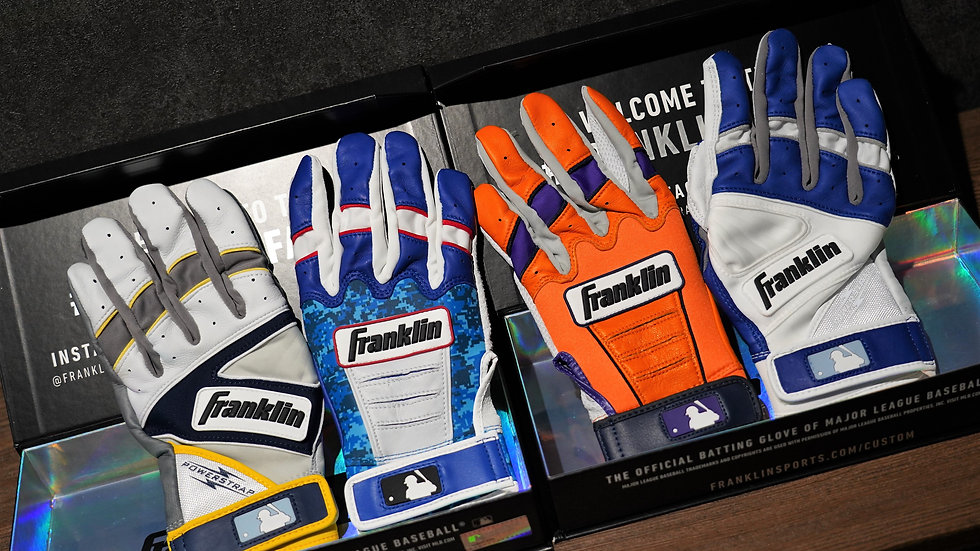 Franklin 限定カラー バッティング手袋