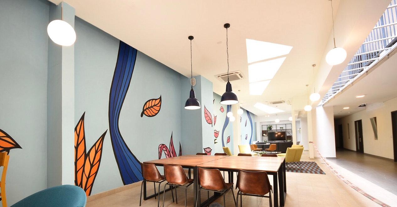 Diseño de interiores de oficinas, Cowork, departamento piloto, espacios comunes, decoración de interiores, decoración de casas, interiorismo, Rinnovo