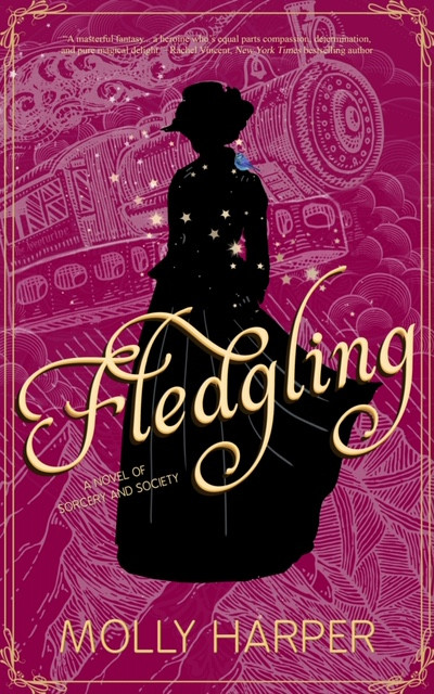 The FLEDGLING release date and cover!