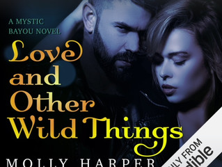 LOVE AND OTHER WILD THINGS coming soon on audio!