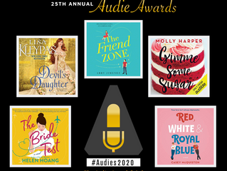 GIMME SOME SUGAR nominated for an AUDIE!