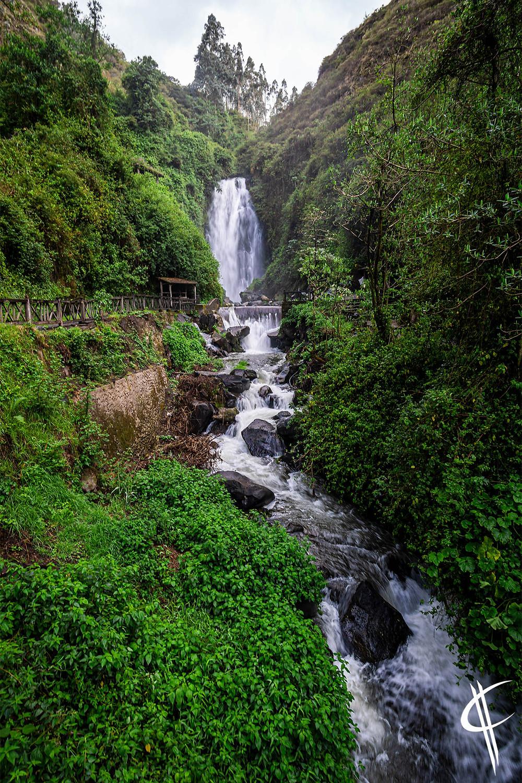 Waterfall Peguche, Otovalo
