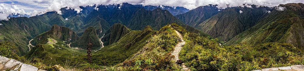 Aussicht von Machu Picchu