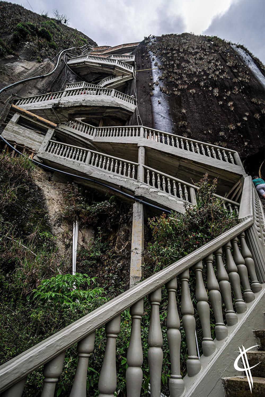 Piedra del Peñol Staircase