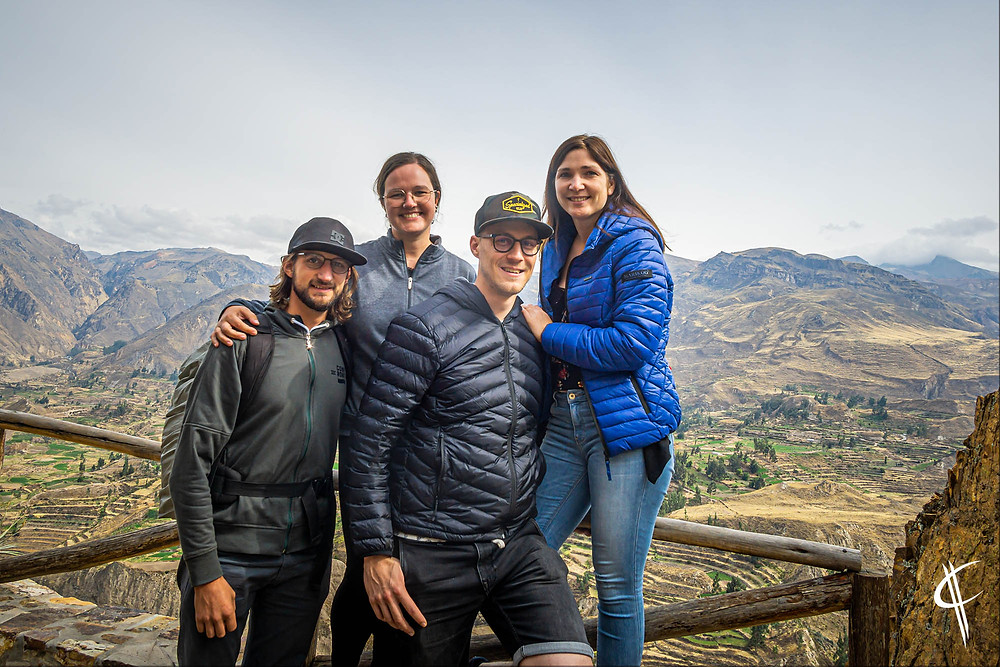 Colca Canyon with friends