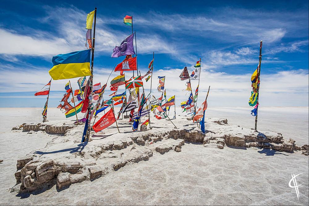 Dakar Flags, Salar de Uyuni