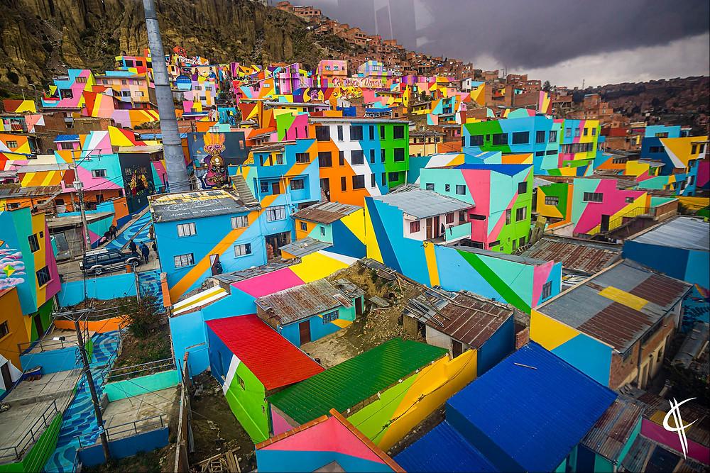 Colourful Houses, La Paz