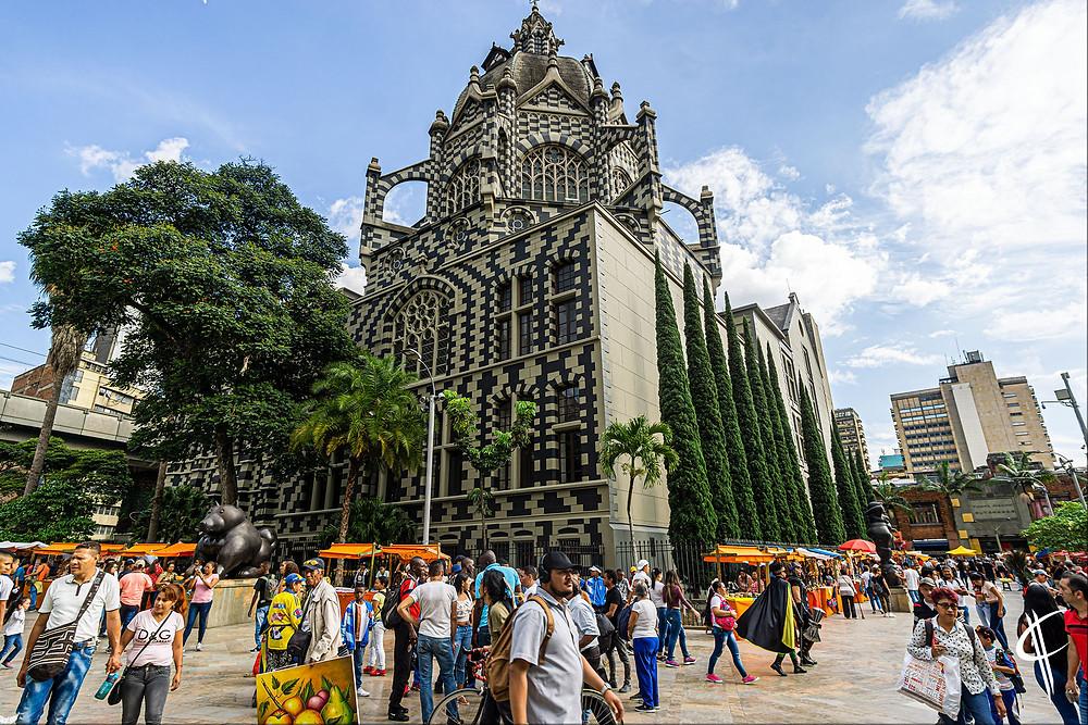 Plaza de las esculpturas, Medellin