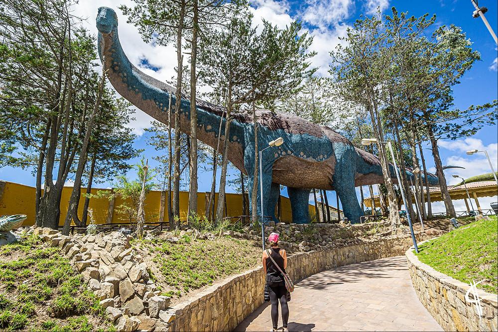 Titanosaur, Parque Cretácico, Sucre