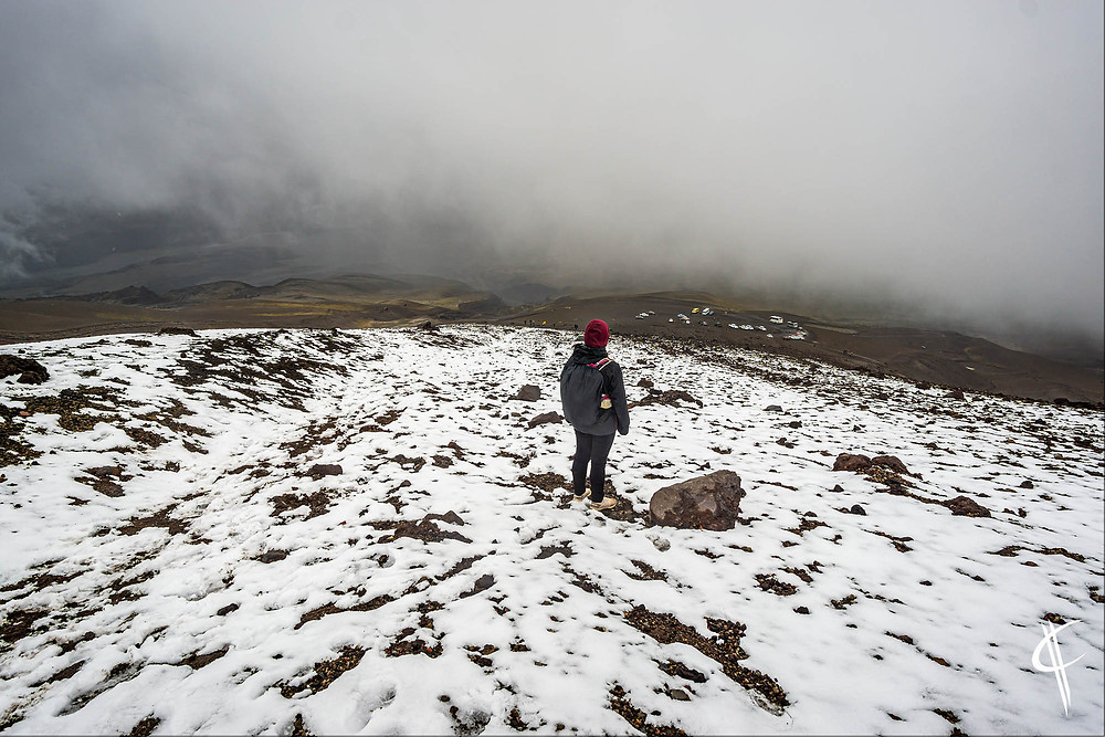 Awesome (?) view from Cotopaxi