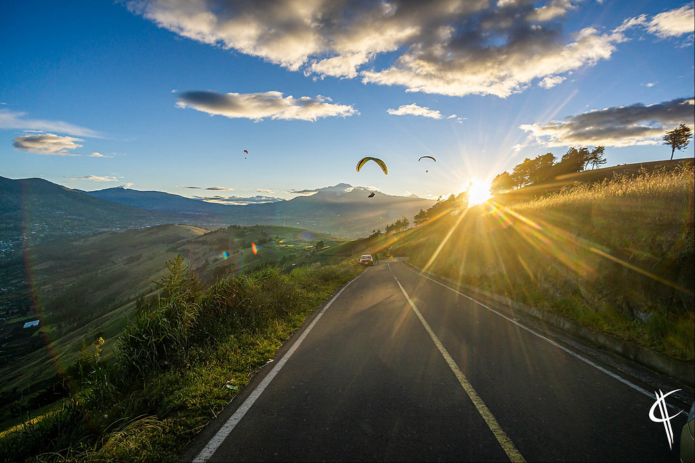 Sunset Paragliding