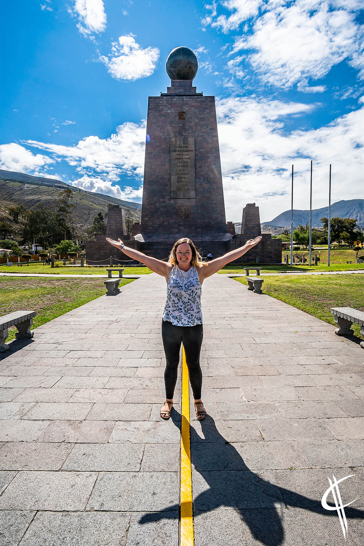 Equator at La Mitad del Mundo