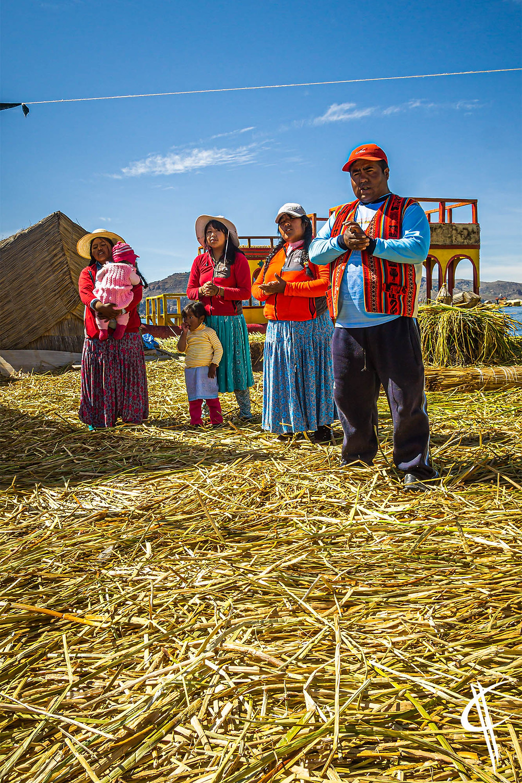Singing Uros, Floating Islands, Lake Titicaca