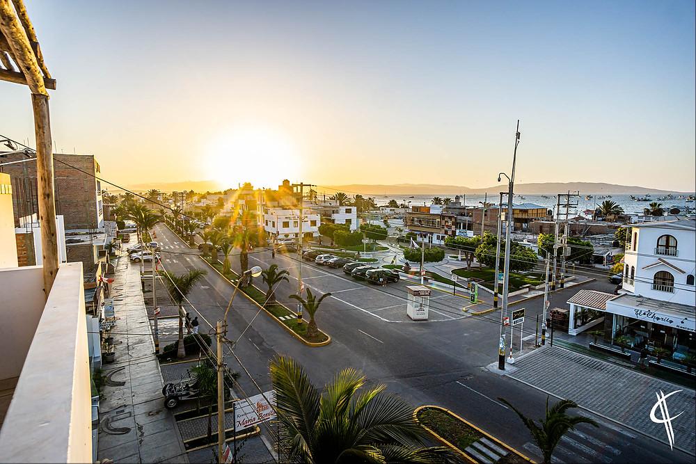 Sunset, Paracas