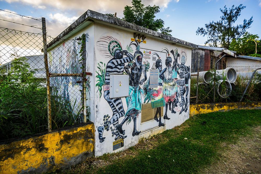 Tribal Street Art