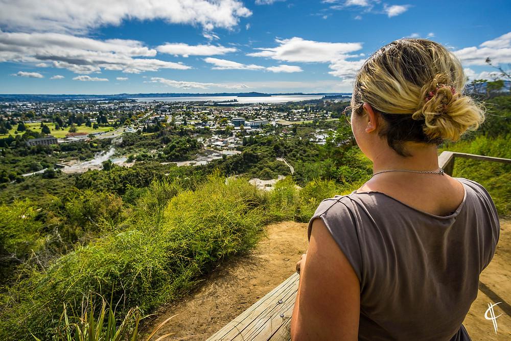 Lookout over Rotorua