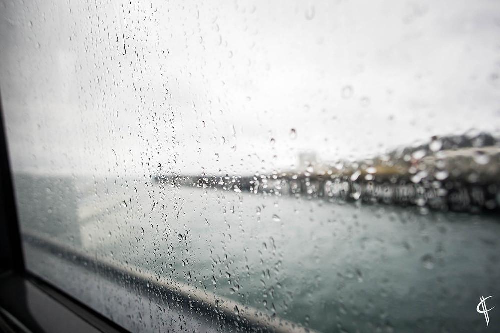 Rain on the Ferry