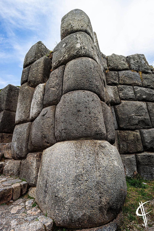 Art in building walls, Sacsayhuamán, Cusco