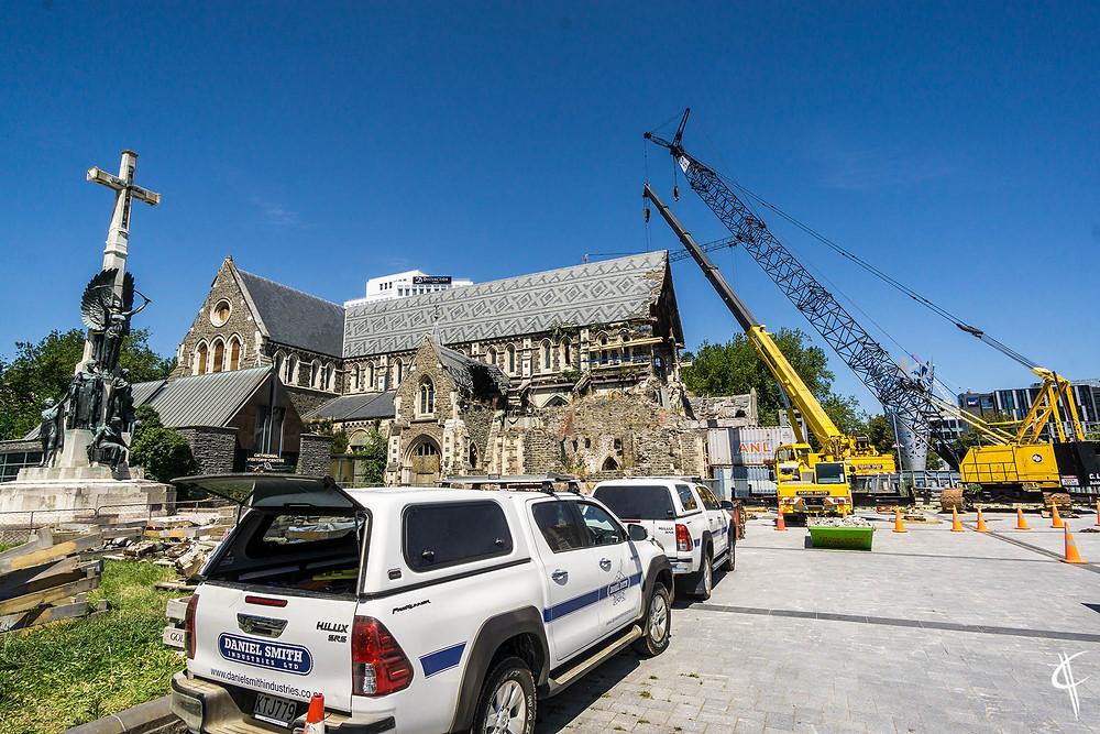 Rebuilding the cathedral