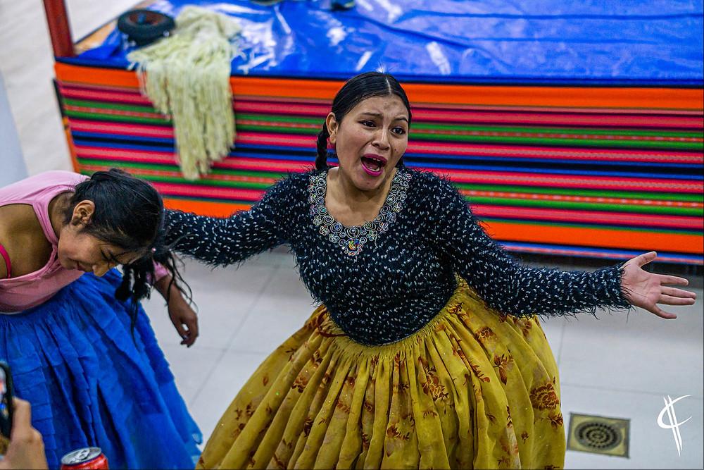Cholitas, La Paz