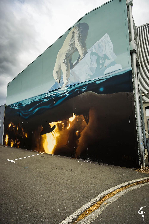 Seawalls in Napier