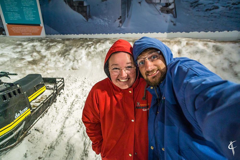 Snowstorm @ International antarctic centre