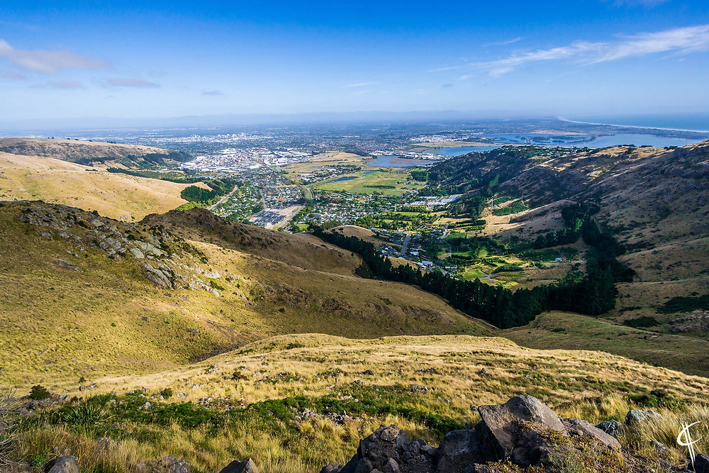 The view over Christchurch